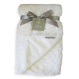 Rosette Blanket in Ivory