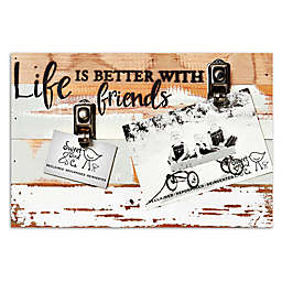 Sweet Bird & Co. Life Is Better With Friends 2-Photo Clip Frame