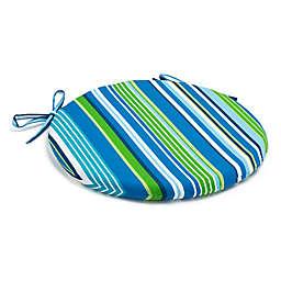 Stripe Bistro Indoor/Outdoor Chair Cushion