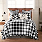 Bee & Willow™ Home Sawyer Reversible Full/Queen Quilt in Black