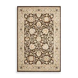 Safavieh Florenteen-Portia 5-Foot 1-Inch x 7-Foot 7-Inch Floor Rug in Brown/Ivory
