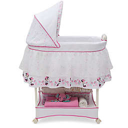 Disney® Minnie Mouse Boutique Gliding Bassinet in Pink