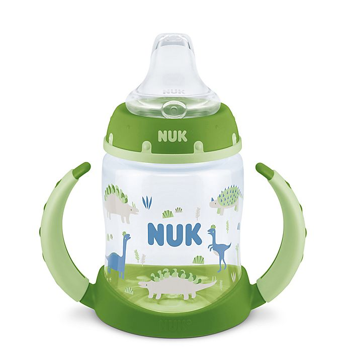 Alternate image 1 for NUK® 5 oz. Dino Learner Cup in Green