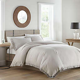 Stone Cottage® Asher King Duvet Set in Grey