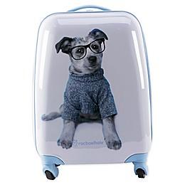 Rachel Hale® Jake 16-Inch Hardside Spinner Carry On Luggage in Blue