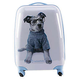 Rachel Hale® Jake 16-Inch Hardside Spinner Carry On Luggage in Blue