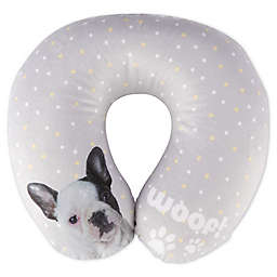 Rachel Hale® Mimi U-Neck Travel Pillow in Grey