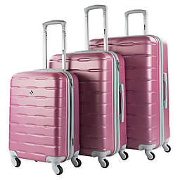 American Sport Plus Cruiser 3-Piece Hardside Spinner Luggage Set