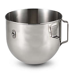 KitchenAid® Polished Stainless Steel 5 qt. Bowl with Handle