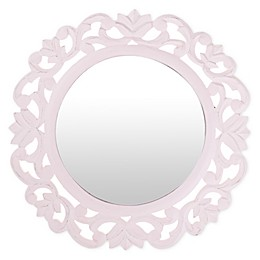 Marmalade™ 15-Inch Round Carved Mirror