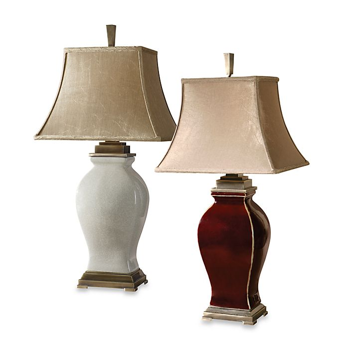 Uttermost Rory Ceramic Table Lamp Bed