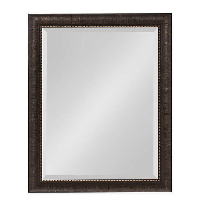 Alternate image 1 for Kate and Laurel Aldridge 21.5-Inch x 27.5-Inch Wall Mirror in Bronze