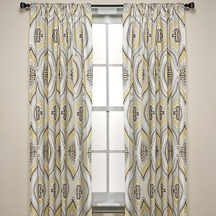 Alternate image 1 for Lanterna Window Curtain Panels  100% Cotton