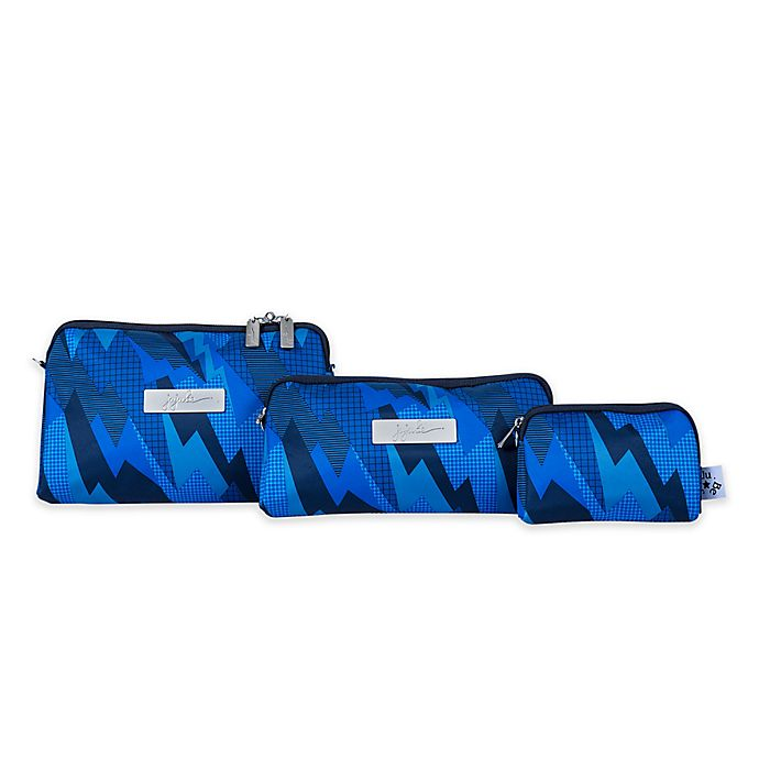 Alternate image 1 for Ju-Ju-Be® 3-Piece Be Set Diaper Clutch Set in Steel Blue