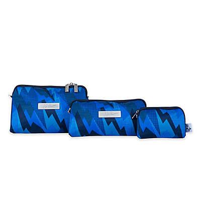 Ju-Ju-Be® 3-Piece Be Set Diaper Clutch Set in Steel Blue