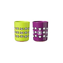 Tommee Tippee® No Knock 2-Pack 6 oz. Plastic Toddler Cat/Fox Drinking Cups