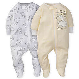 Gerber® 2-Pack Lamb Sleep 'n Play in Yellow