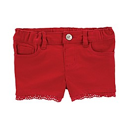 OshKosh B'gosh® Scallop Hem Short in Red