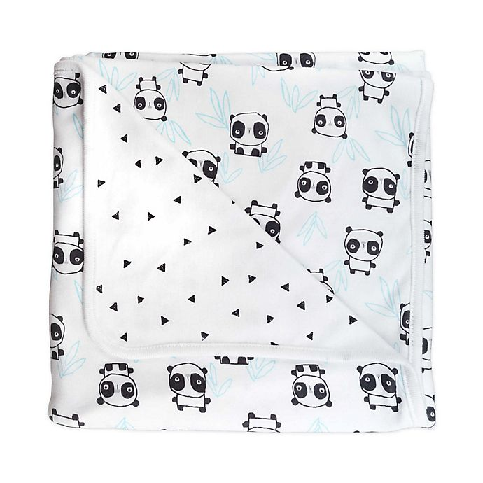 Alternate image 1 for Mac & Moon Panda Blanket