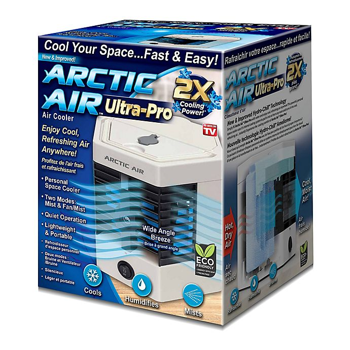 Arctic Air Ultra Evaporative Air Cooler In White Grey Bed Bath And Beyond Canada