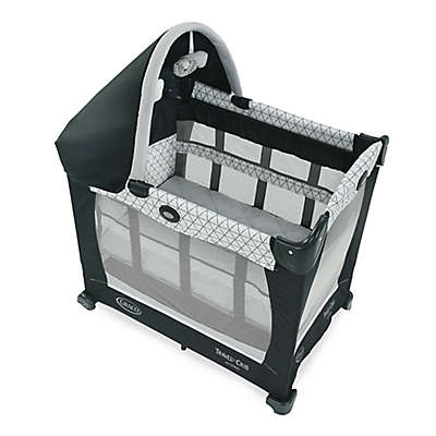 Graco® Travel Lite® Crib with Stages in Black