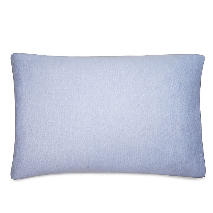 Alternate image 1 for Calvin Klein® Ray King Pillow Sham in Periwinkle/Creme