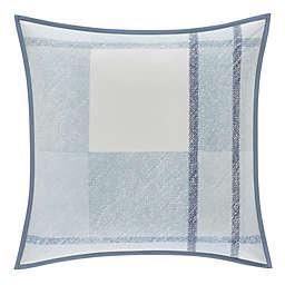 Oscar/Oliver Leighton Square Throw Pillow in Blue