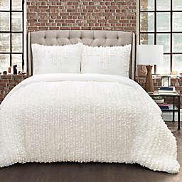 Lush Décor Ruffle Stripe Comforter Set