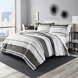 Perry Ellis® Rowan Stripe Comforter Set