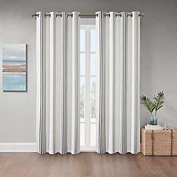 Coastal Life Sandbar Grommet Indoor/Outdoor Window Curtain Panel (Single)