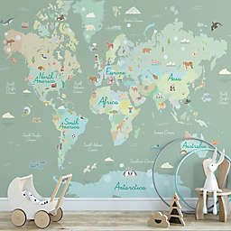 WallPops!® Where in the World Peel and Stick Wall Mural
