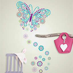 WallPops!™ Social Butterfly Vinyl Wall Art Decal Kit