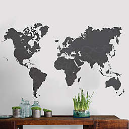 WallPops!™ The World is Yours Vinyl Wall Art Decal Kit