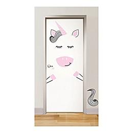 WallPops!™ Gigi The Unicorn Vinyl Door Art Decal Kit