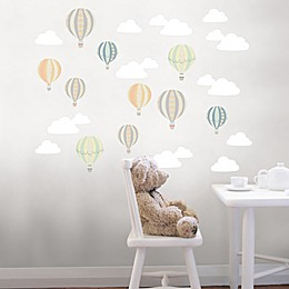WallPops!™ Up Up and Away Vinyl Wall Art Decal Kit