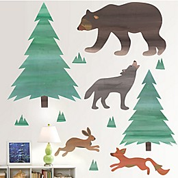 WallPops!™ Call of the Wild Vinyl Wall Art Decal Kit