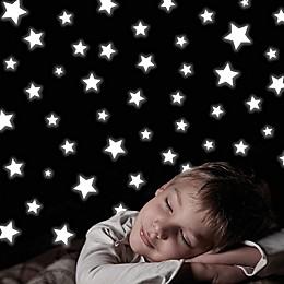 188-Piece Glow-in-the-Dark Stars Wall Decal Set