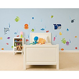 Under the Sea 36-Count Peel and Stick Wall Decals