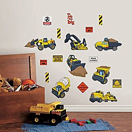 Tonka™ Truck 19-Piece Vinyl Wall Decal Set