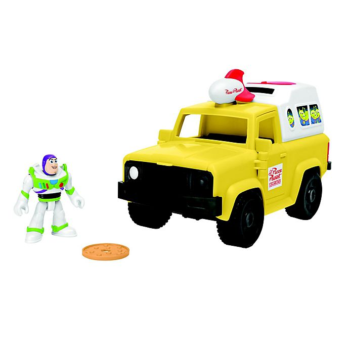 Alternate image 1 for Fisher-Price® Disney® Imaginenext Toy Story Buzz Lightyear & Pizza Planet Truck