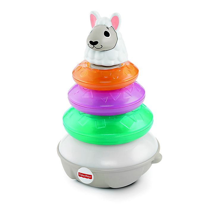 Alternate image 1 for Fisher-Price® Linkimals™ 5-Piece Lights & Colors Llama Interactive Toys