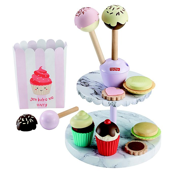 Alternate image 1 for Fisher-Price® 24-Piece Cake Pop Shop