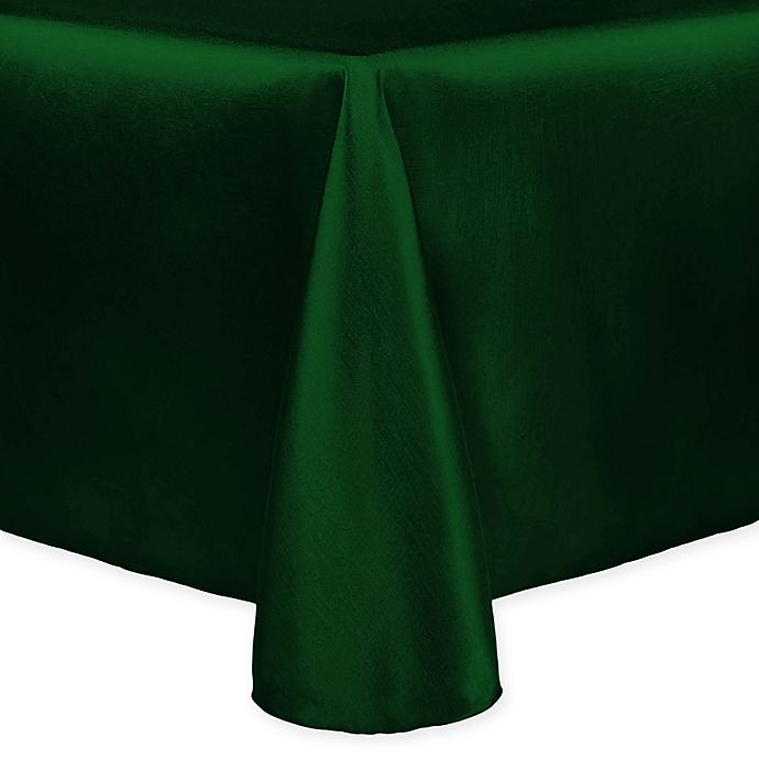 Alternate image 1 for Majestic 90-Inch x 132-Inch Tablecloth in Hunter