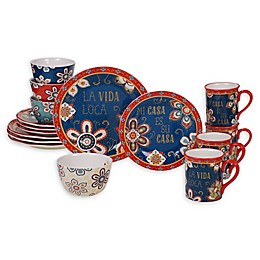 Certified International La Vida 16-Piece Dinnerware Set