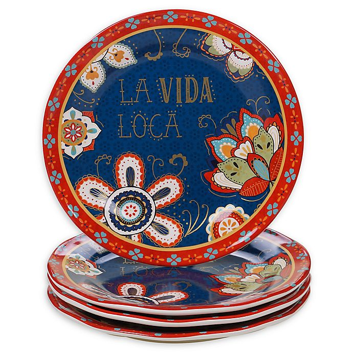 Alternate image 1 for Certified International La Vida Dinner Plates (Set of 4)