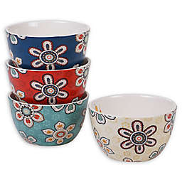 Certified International La Vida Ice Cream Bowls (Set of 4)