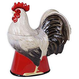Certified International Homestead Rooster 3D Cookie Jar