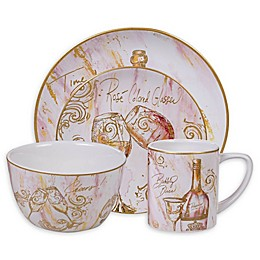 Certified International Wine All the Time Dinnerware Collection