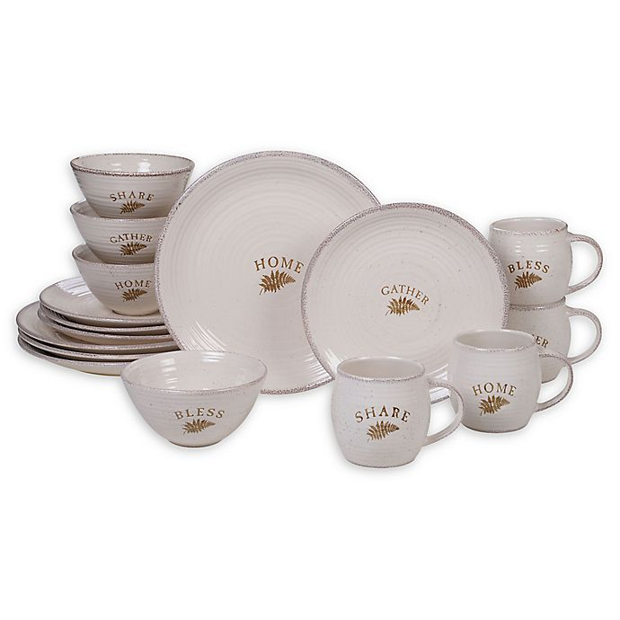 Alternate image 1 for Certified International Gather 16-Piece Dinnerware Set