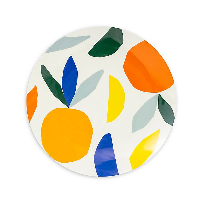 Alternate image 1 for kate spade new york Citrus Twist™ Melamine  Accent Plate